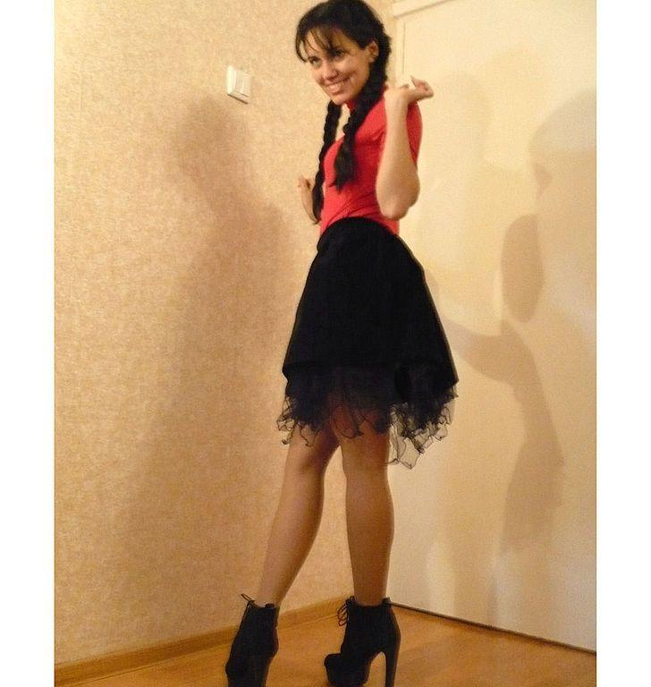 Купить нарядная юбка из натурального бархата - чёрный, чёрная юбка, нарядная юбка, однотонный
