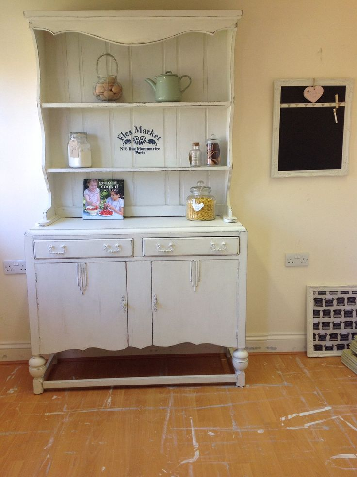 Rustic French inspired Welsh Dresser For sale on Vintage Boo page