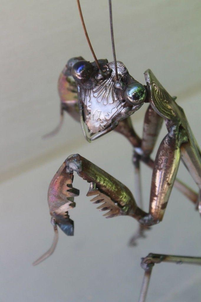 Потрясающие металлические скульптуры