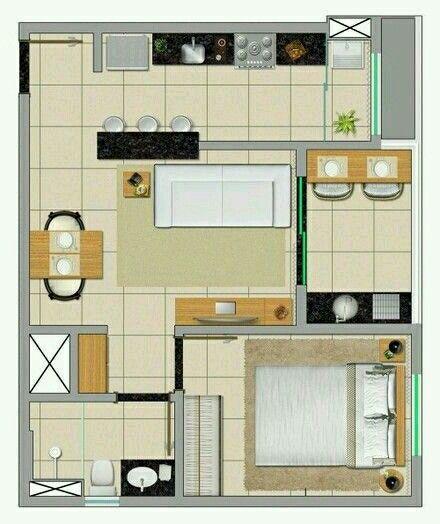 46 best A-ARQ-PLANS images on Pinterest House blueprints, House - plan maison plain pied 80m2
