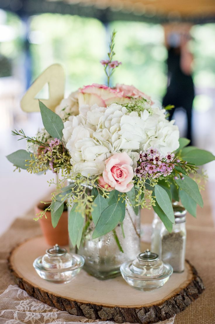 Eucalyptus And White Rose Bouquet