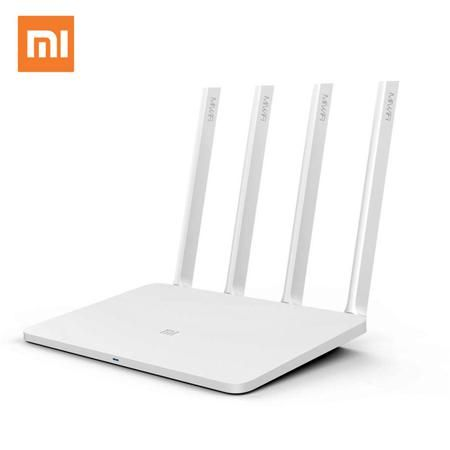 Mi router 3 Xiaomi  WIFI  router English Version  Wireless  mobile router  2.4G/5GHz  modem 1167Mbps  — 2176.53 руб. —