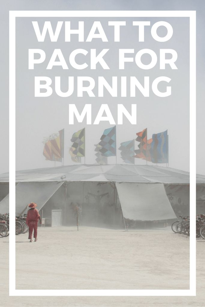 Whether you've been for years or this is your first year, Burning Man is an intense week out in the Black Rock Desert of Nevada. While people are kind and giving, it's important to be self-reliant and bring everything you need to Burning Man, including water, shelter, and food. If you're looking for an ultimate Burning Man packing list, then here it is! Get everything you need for the Playa and get ready to head back home. )'(