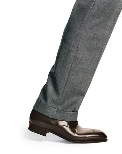 Туфли мужские темнокоричневые