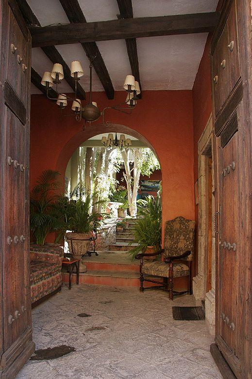 Gorgeous entry