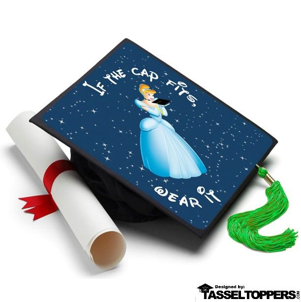 Well what do you know. This Grad Cap is the perfect fit for this Princess!