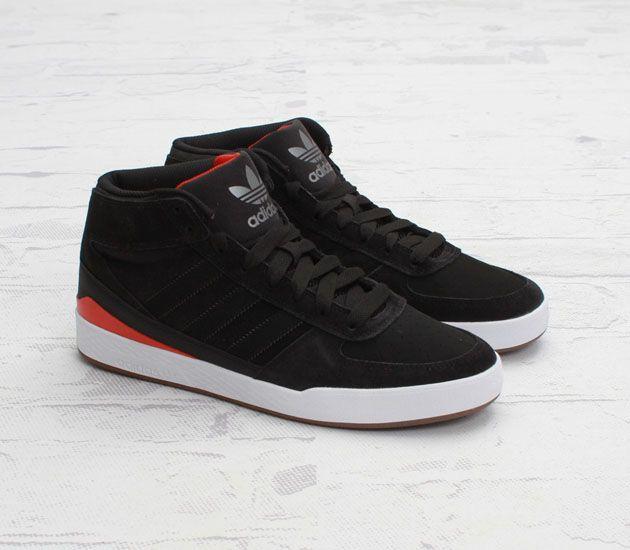 adidas Skateboarding Forum X - Black / Vivid Red