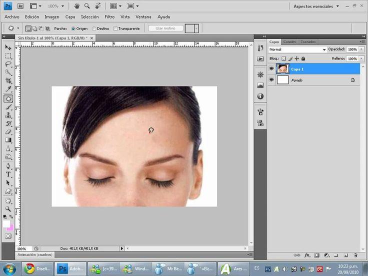 Como quitar espinillas con photoshop - http://solucionparaelacne.org/blog/como-quitar-espinillas-con-photoshop/