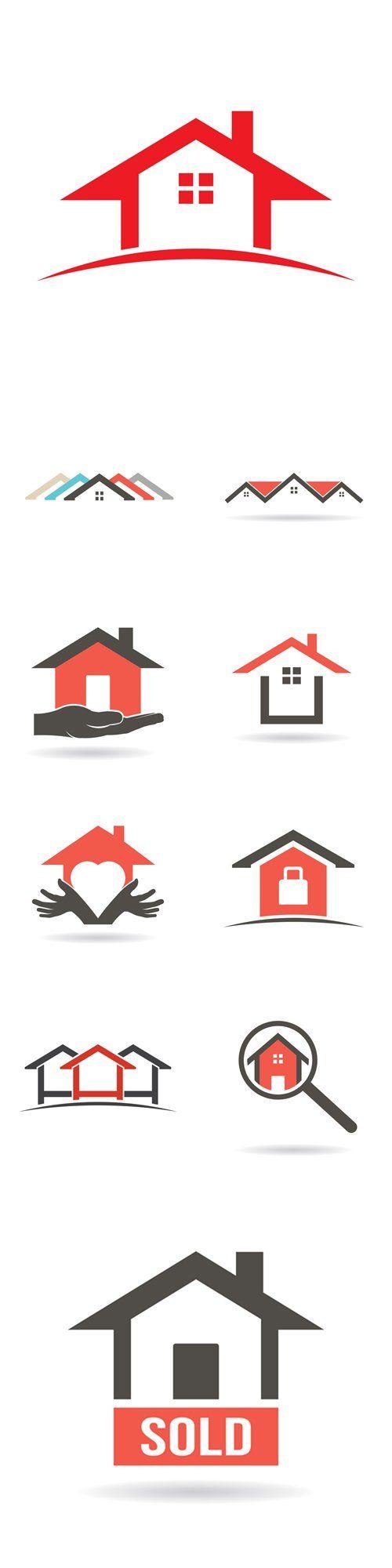 Vector House Logo Graphic Design
