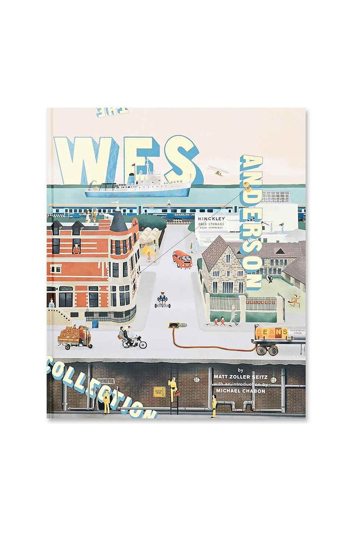 Wes Anderson Collection Book