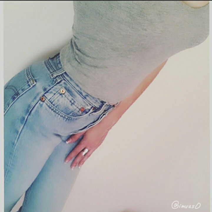 #levis my favorite jeans #crop top by bershka #handmade ring by my love ❤ #fashionlover #fashiondiary