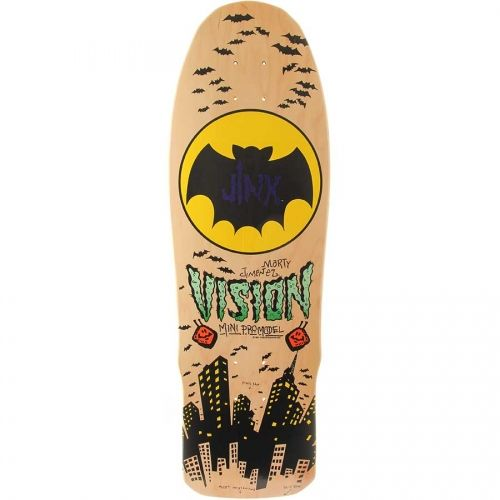 Vision Skateboards <br> Vision Marty Jimenez Jinx Mini Re-Issue Deck <br> Natural II 9.5x29.5