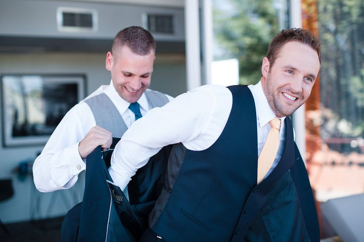 #getting #ready #groom #groomsmen #pictures #elegant #navy #gray #tux #tuxedo #venue #Arizona #RoyalPalmsResort #Scottsdale #ParadiseValley #ALWE #destination #weddingplanner #andrealeslieweddings // Planning & Coordinating - Andrea Leslie Weddings & Events // Photography - I Do Photography // Venue - Royal Palms Resort, AZ // Groom and groomsmen attire - Celebrity Tux and Tails //