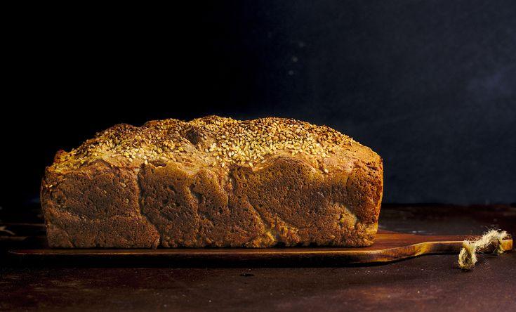 Pan de trigo sarraceno sen glute #glutenfree