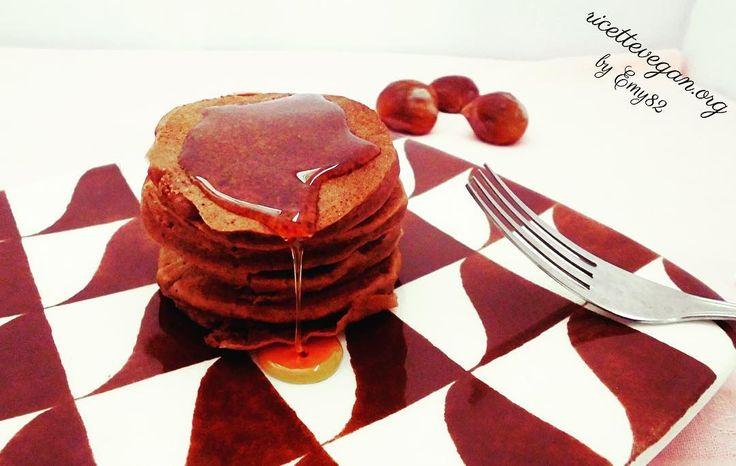 Pancakes alla Farina di Castagne. La ricetta qui: http://ift.tt/2bLkSF9  #vegan #veganfood  #vegano #veganfoodporn #vegetarian #vegansofinstagram #veganfoodshare #crueltyfree #veganism #ricettevegane #ricette #ricettevegan #ricettepervegani #govegan