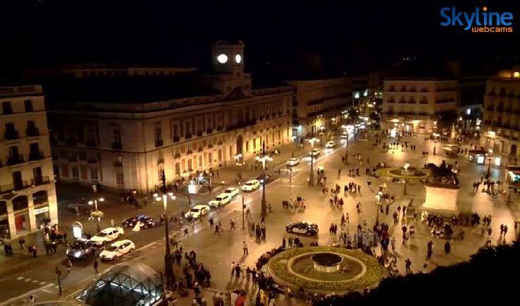 20 best skyline webcams images on pinterest live skyline and italia - Webcam puerta del sol ...