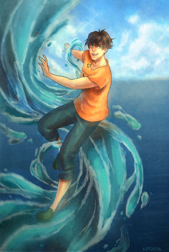 Son of Poseidon by kitt2506