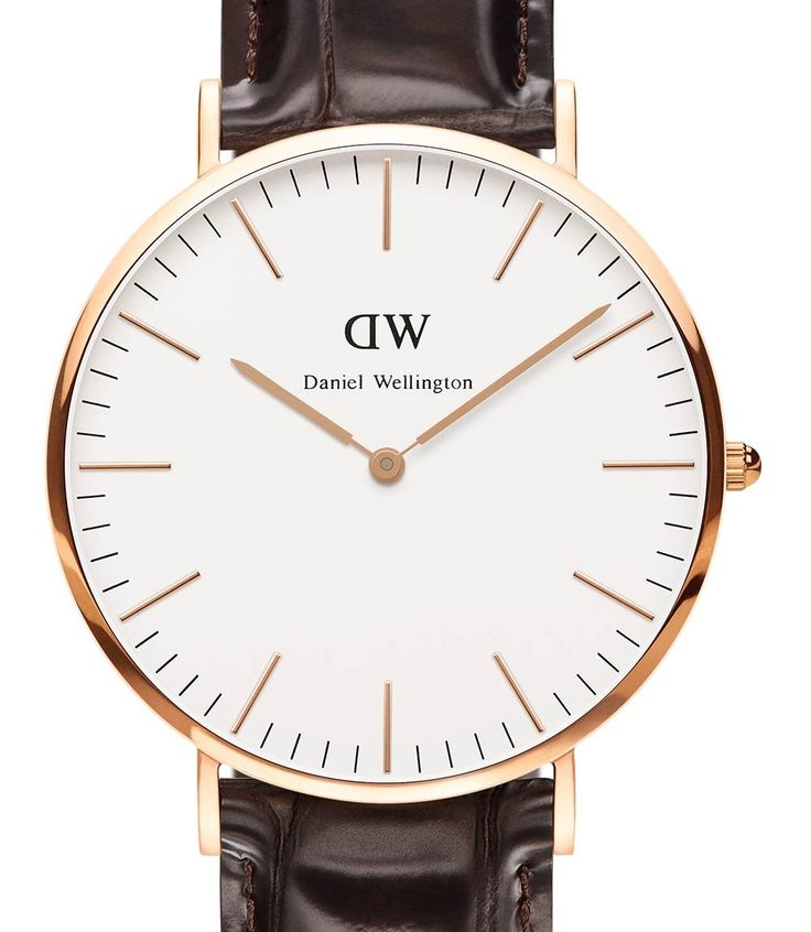 Daniel Wellington - Men's 40mm Classic York Rose Gold - 0111DW