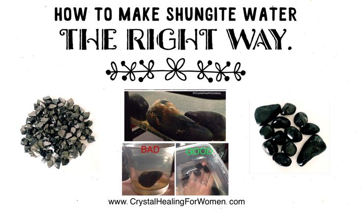 Why Shungite water is one of the best things you can do for your health. Learn about Shungite and how to make Shungite water, the right way!