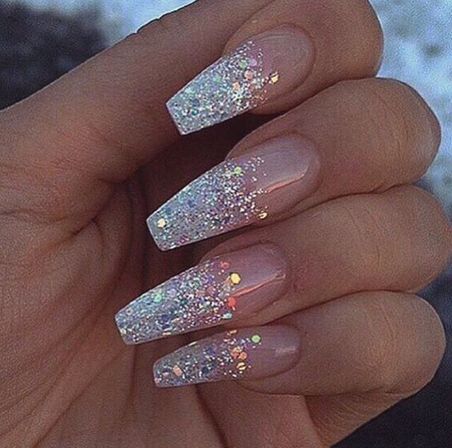 11 best cute nails images on pinterest acrylics nail polish art glitter nail art designs have become a constant favorite almost every girl loves glitter on their nails glitter nail designs can give that extra edge to prinsesfo Images