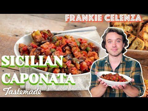 Eggplant relish aka Caponata - Tastemade - Youtube