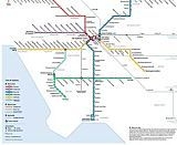 New Metro Rail Map is Very Real and Pretty Spectacular  - Curbed LA