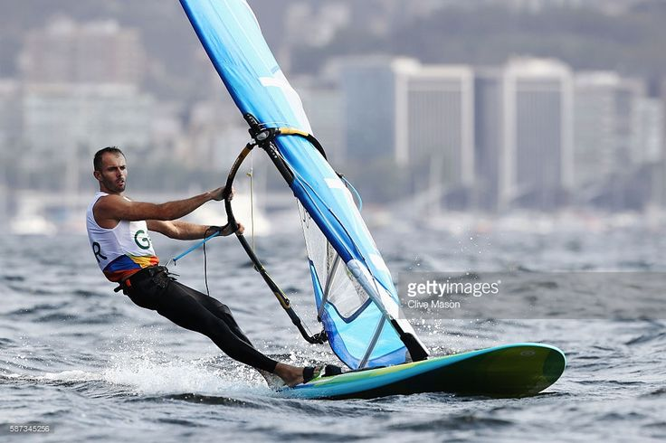 Nick Dempsey of Great Britain competes during the Men's