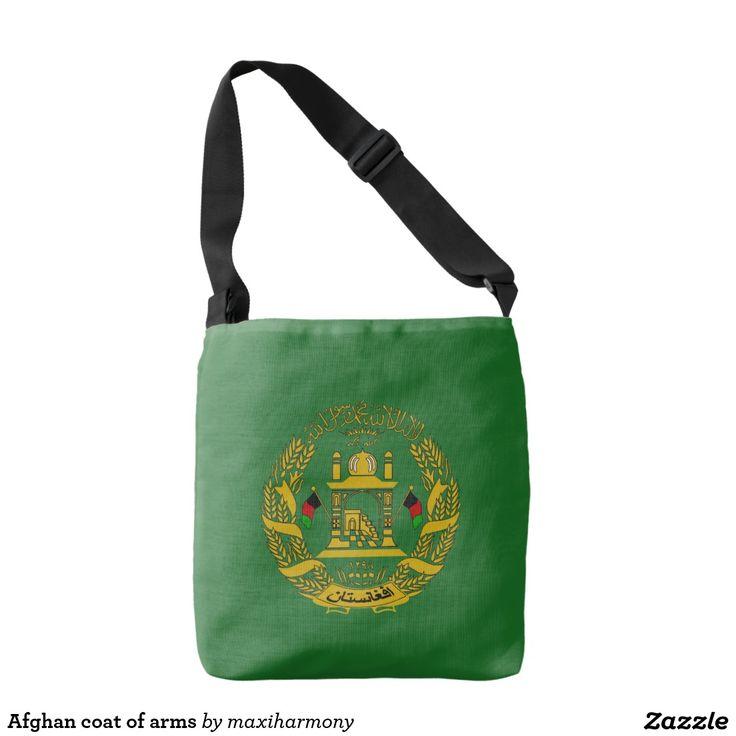 Afghan coat of arms tote bag