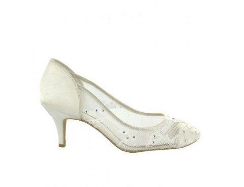 Svadobné topánky Menbur Soraya svadobný salón valery