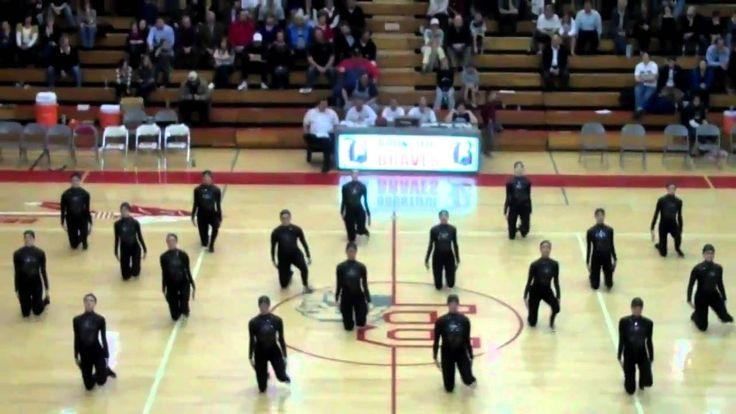Bountiful High School drill/dance team 2010/11  military