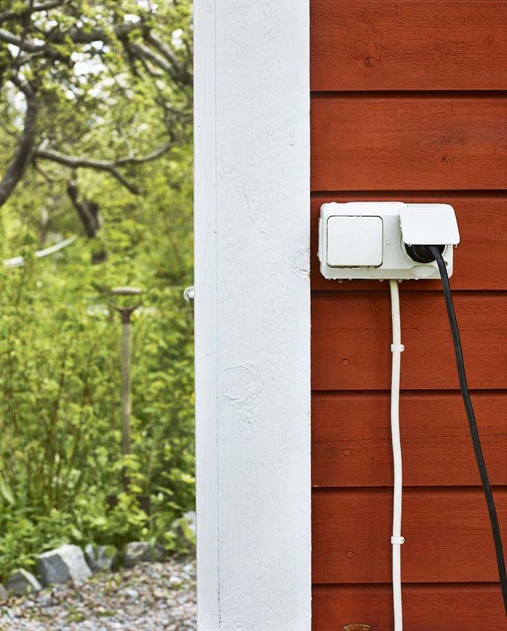 Safe electricity outdoor with Aqua Stark   Schneider Electric