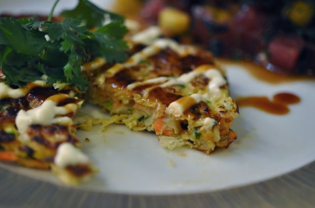 Okonomiyaki - Japanese pancake | Food to try | Pinterest