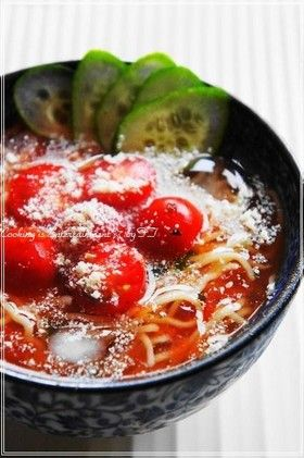 太陽のトマト麺...♡らーめん/つけ麺 by food town [クックパッド ...