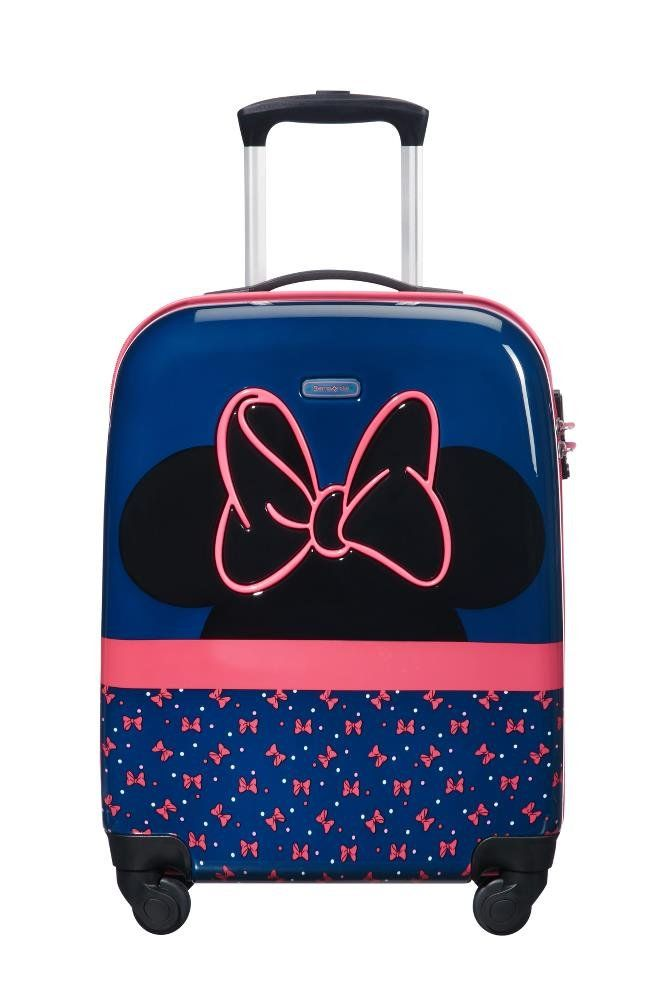 31f515fdf0 SAMSONITE Disney Ultimate 2.0 - Spinner 55/20 2.6 KG Children's Luggage, 54  cm, 33 liters, Multicolour (Minnie Neon) 3D design: 3D printed bow.