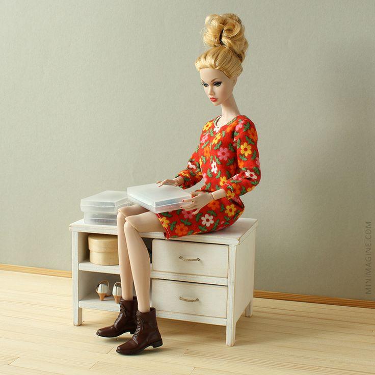 MINIMAGINE * for dolls #poppyparker #poppyparkerdoll #dollfurniture #furniturefordolls #minimagine #dolldiorama #sixthscale