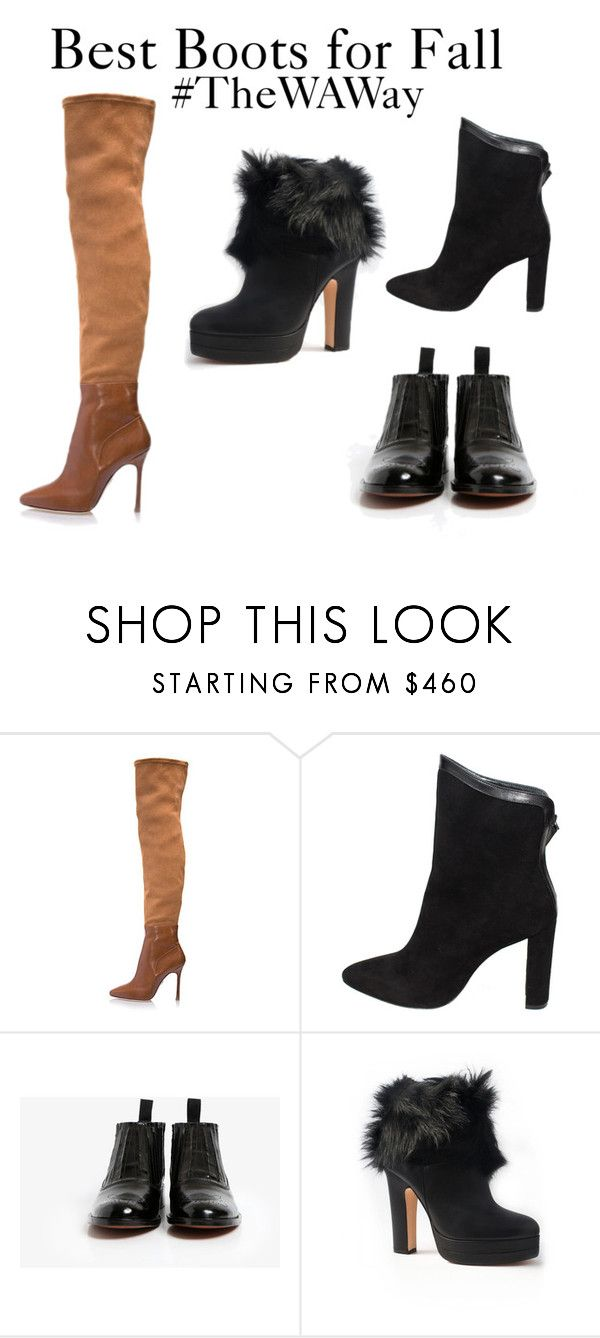 """""""Best Boots for Fall"""" by wdrobe-apparel ❤ liked on Polyvore featuring Terry de Havilland"""