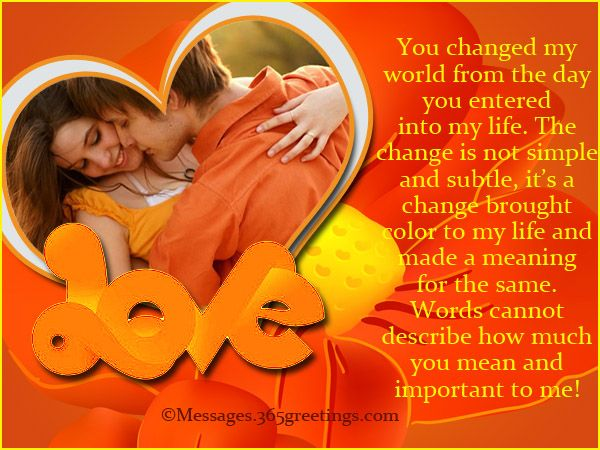 Romantic Messages for Wife