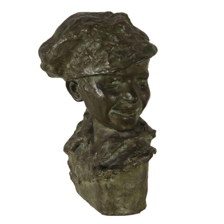 Sculpture Bronze Medardo Rosso '900