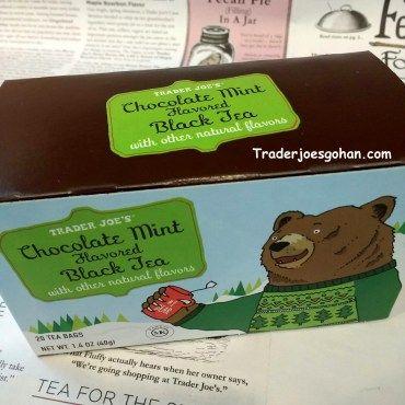 Trader Joe's Chocolate Mint Flavored Black Tea $1.99 | #TraderJoes #ChocolateMint #BlackTea