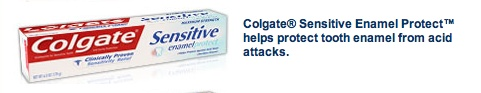 Colgate Sensitive Enamel Protect is the best working sensitive toothpaste I've ever used!!