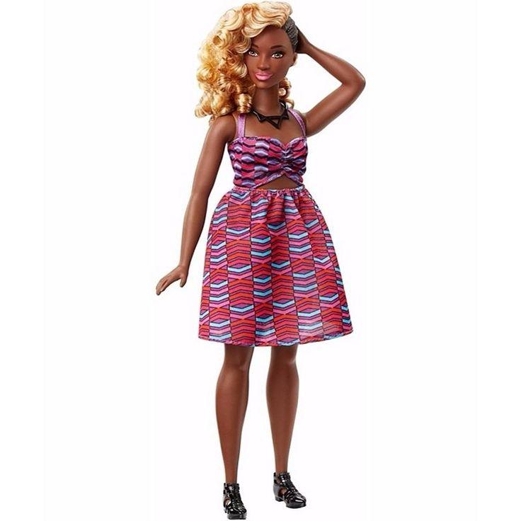 NEW! 2016 Barbie Fashionista Zig & Zag Curvy AA Doll 57 ~ NIB #Mattel
