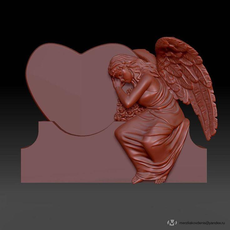 0 отметок «Нравится», 1 комментариев — мерзляков (@denismerzliakov) в Instagram: «#angel #3dmodel #3dprint #3d #art #sculpture #decor #design #model #fantasy #work #izh #izhevsk…»