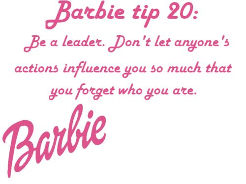 Barbie Quotes Pin by MISS MILLIONAIRESS on WOMEN'S LIB | Barbie, Barbie quotes, Tips Barbie Quotes