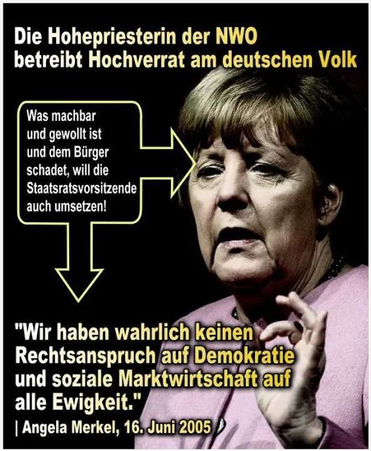 Hochverrat Merkel