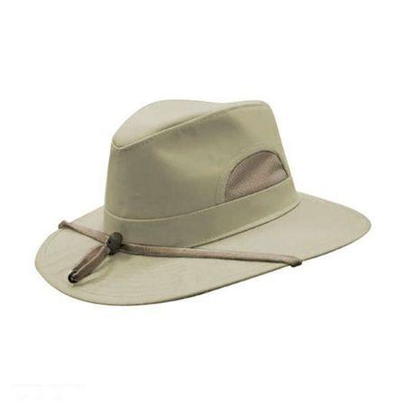 HILLS HATS OF NEW ZEALAND Southern Tech Safari Fedora Hat  15d7fba1b4d