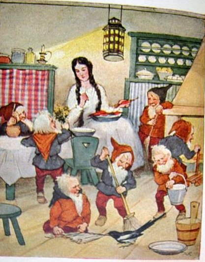 snow white by brothers grimm Disney the queen just asks the huntsman to kill snow white the apple is the  only trick the wicked queen uses and succeeds the queen is trying to drop a.