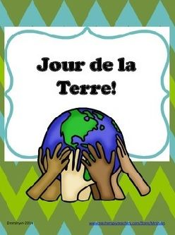 French Earth Day - Jour de la Terre - word search! A gentle reminder that we ALL need to look after our planet!
