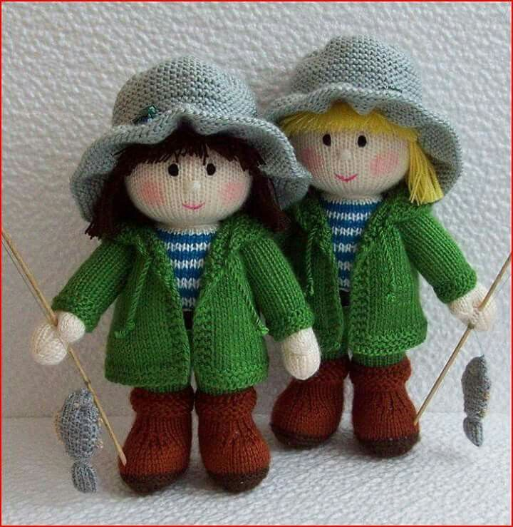 448 best images about Crocheted and Knit Dolls on ...