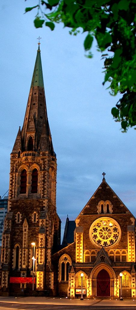 Christchurch Cathedral - NZ