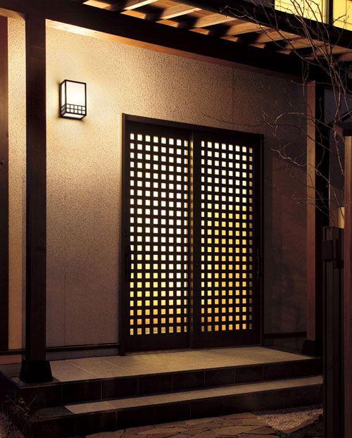 ★和風 玄関照明 屋外用ライト エクステリアライト 照明器具 送料:9581677:megastore Yahoo!店 - Yahoo!ショッピング - ネットで通販、オンラインショッピング